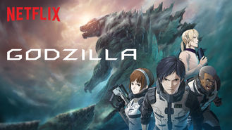 Netflix box art for Godzilla - Season 1